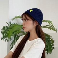 여름 숏 비니 캐주얼 린넨 혼방 얇은 니트 와치캡 레옹 챙없는 모자