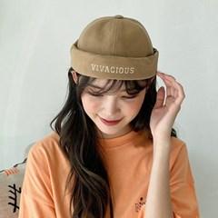 여자 남자 와치캡 숏비니 VIVA 자수 모자