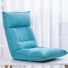 [리퍼] 레이지다이어리 라텍스 좌식 소파 패브릭 1인용 의자