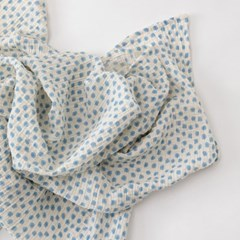 Balloon Gauze Blanket_Blue