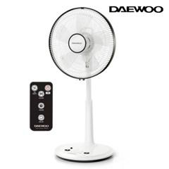 대우 초미세풍 발터치 리모컨 선풍기 DEF-W140F
