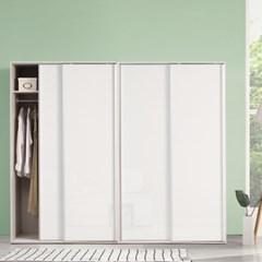 키높이 클래시 하이그로시 슬라이딩옷장 8자세트 서라운딩 무료설치