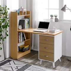 트리빔하우스 모니카 서랍형 1500 책상세트_TB21F87