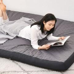 라누베 라이트 마약 매트리스 토퍼 침대 바닥 수면매트 S(싱글) 12cm