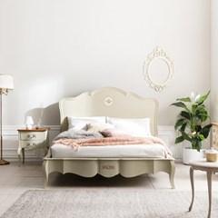 [퍼니프랑] 수입 유럽형 빈티지 엔틱가구 RG 31 로렌 K 미색 침대 프