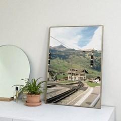 마치스가든 A2 유럽 스위스 빈티지 포스터 [Grindelwald]