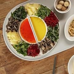 보니토 플레이트 접시 2color 택1p