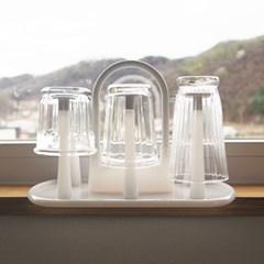심플 화이트 컵걸이 (컵홀더, 컵건조대)