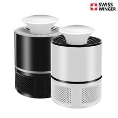 스위스윙거 1+1 UV 모기트랩 모기퇴치기 유인제포함