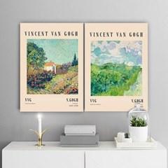 퍼니즈 반고흐A 포스터 1+1+1 3장세트 (A3사이즈) /명화 작품
