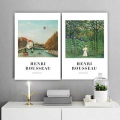 퍼니즈 루소A 포스터 1+1+1 3장세트 (A3사이즈) /명화 작품