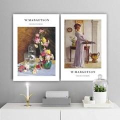 퍼니즈 마켓슨A 포스터 1+1+1 3장세트 (A3사이즈) /명화 작품
