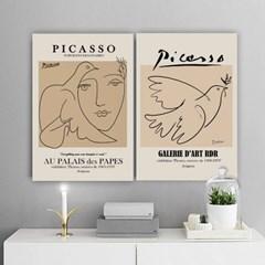 퍼니즈 피카소A 포스터 1+1+1 3장세트 (A3사이즈) /명화 작품
