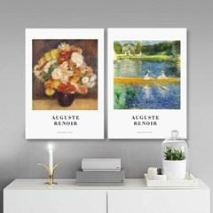 퍼니즈 르누아르A 포스터 1+1+1 3장세트 (A3사이즈) /명화 작품
