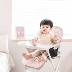 에시앙 라이트 하이체어 + 쿨 인견 라이너 유아식탁의자_(1013335)