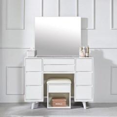 라데 일체형 거울 화장대 세트 B형 (의자포함)_(1376980)