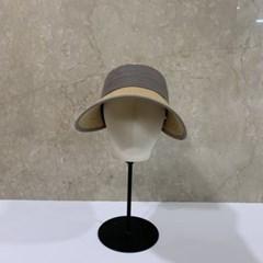 주름 띠 챙넓은 지사 데일리 자외선차단 썬캡 모자