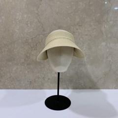 벨크로 기본 심플 챙넓은 꾸안꾸 패션 썬캡 모자