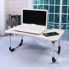 엔조이 접이식 좌식 책상 A-2(라이트우드) 노트북 태블릿거치