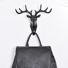 북유럽 사슴 벽걸이 후크 홀더 3color t