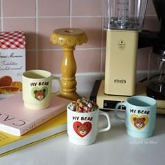 My Bear Mug Cup (3Type)- 마이베어 머그컵 곰돌이 머그컵