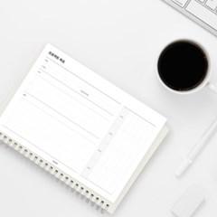 [어른문방구] 프로젝트 목표 메모지 / 업무 계획 달성 플래너