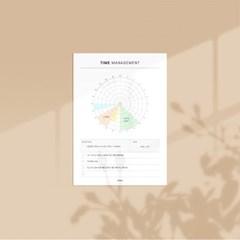 [어른문방구] 시간관리 메모지 / 플래너 스케쥴러 계획