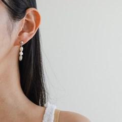 진주 드롭 골드 실버 데일리 패션 E1189 귀걸이