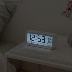 오리엔트 OWC시계 OTM1645DW 이지라이프 올인원 LCD 디지털탁상시계