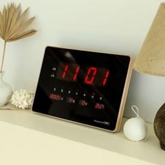 오리엔트 OWC시계 OTM907DG 클린 LED 캘린더 탁상겸용 디지털벽시계