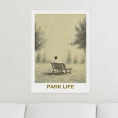 일러스트 포스터 / 인테리어 액자_park life 01