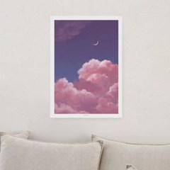 일러스트 포스터 / 인테리어 액자_pink clouds 03