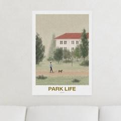 일러스트 포스터 / 인테리어 액자_park life 03