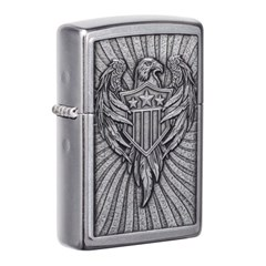 ZIPPO 라이터 49450 Eagle Shield Emblem Design_(2774781)