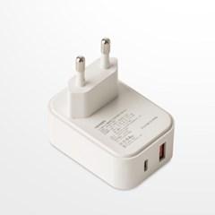 플라이토 PD18W 고속충전기 USB C타입 멀티충전기2구