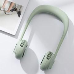 두손이 자유로운 USB 넥밴드 선풍기 목에거는 넥풍기