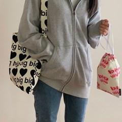 big heart bag