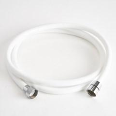 이태리 게디 물때방지 PVC 샤워호스 화이트 1.5m 2m_(4444589)