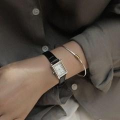 여자 브랜드 메탈 데일리 가죽 시계