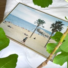 마치스가든 A2 유럽 스페인 해변 포스터 [Playa de la Barceloneta]