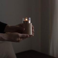 [지음] 티라이트 우드홀더