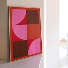 포스터 STAY AROUND_RED, 30x40/50x70_(1423308)