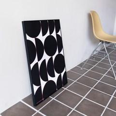 포스터 MOONY MOONIE BLACK, 30x40/50x70_(1423302)