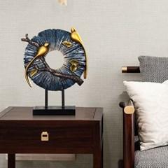 빈티지 포인트 인테리어 고급스러운 앤틱 디자인 참새 장식 소품