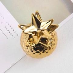 홈데코 인테리어 소품 파인애플 디자인 저금통 미니 도자기 장식품