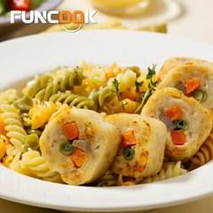 펀쿡 쫄깃한 닭가슴살 치킨롤 1kg