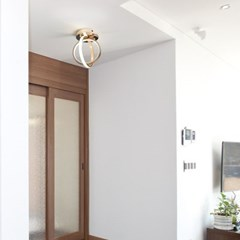 LED 트윈 써클 직부등/센서등 20W