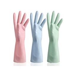 미끄럼방지 설거지장갑 컬러 PVC 고무장갑 청소용 빨래용 다용도