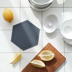 모던 실리콘 폴리곤 냄비받침 3color