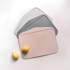 벨라이프 TPE 자연항균 안심도마 3p 거치대세트